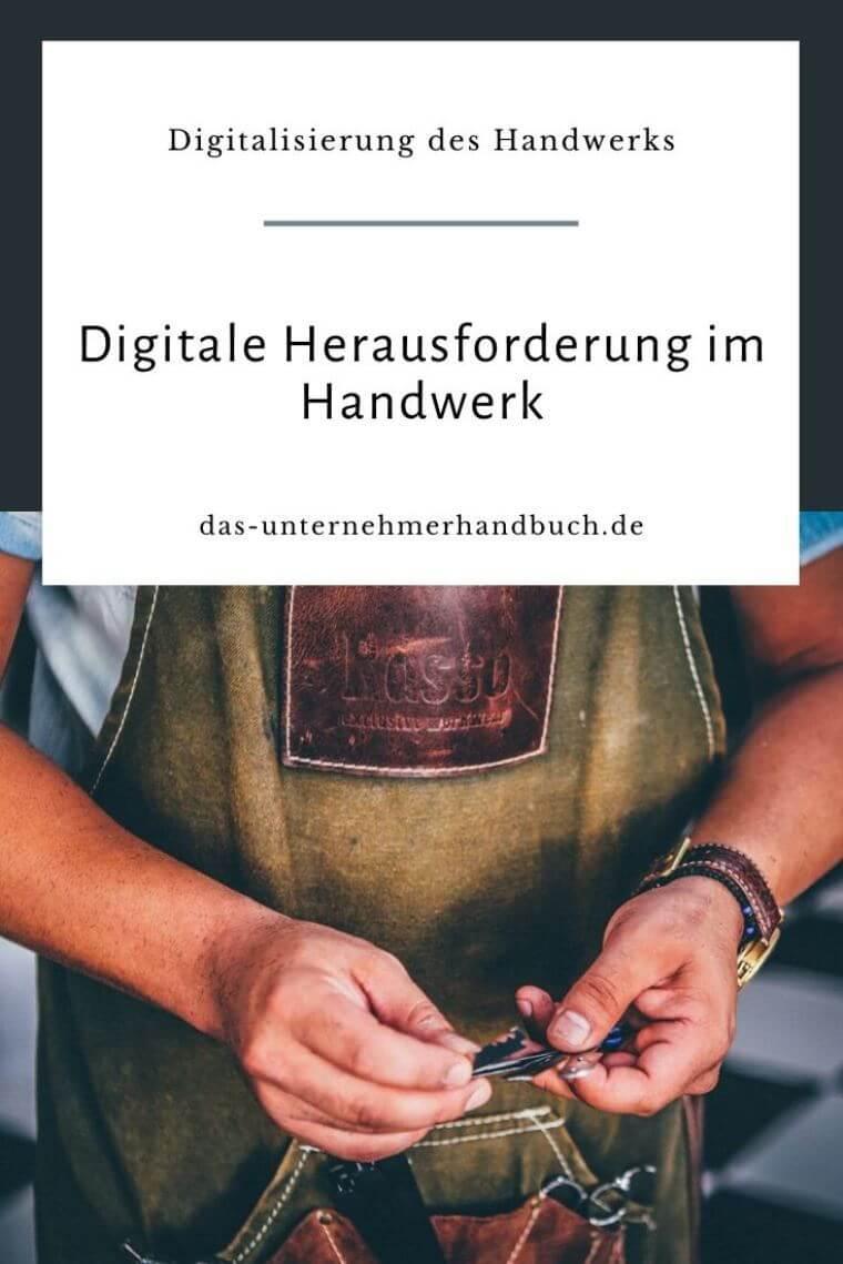 Digitalisierung, Handwerk