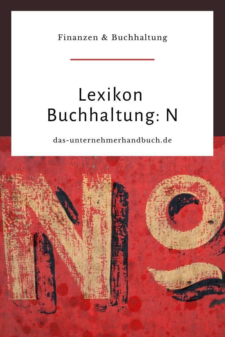 Lexikon Buchhaltung: N