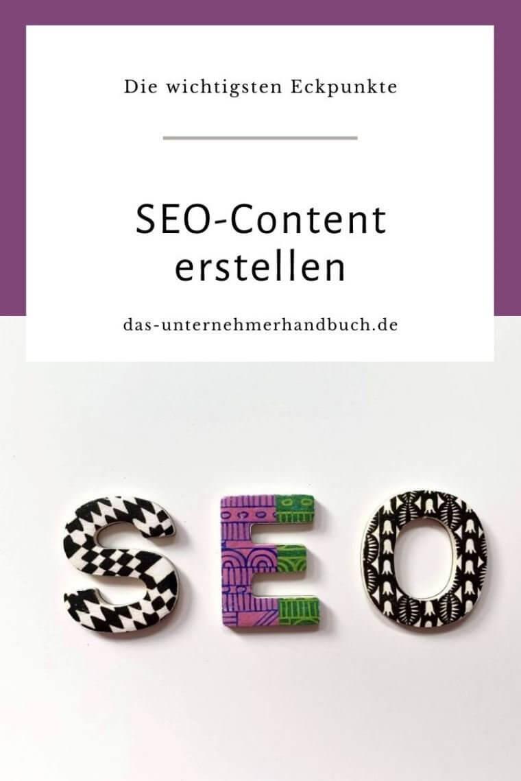 Keywords, SEO-Content