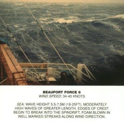 WikiPedia - Beaufort scale 8