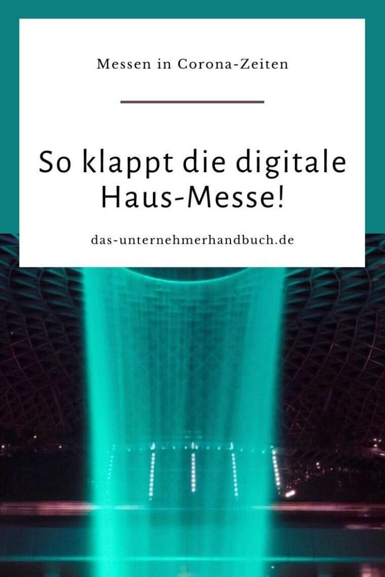 Messe, Digitalisierung, digitale Veranstaltungen, Messemarketing