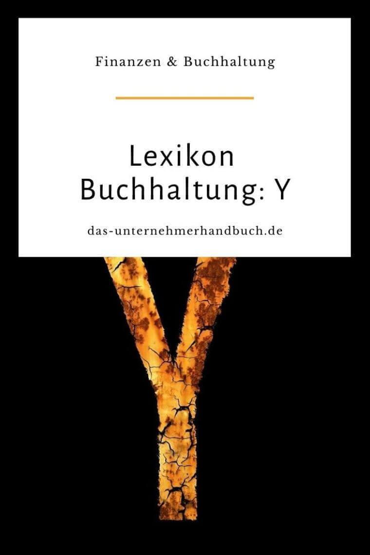 Lexikon Buchhaltung: Y