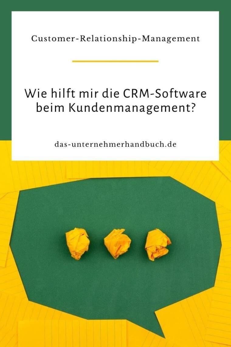 CRM, Kundenmanagement