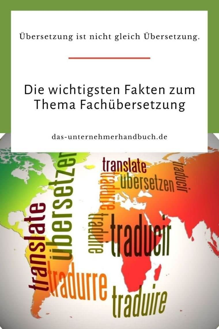 Fachübersetzung