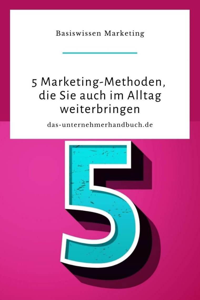 Marketing-Methoden