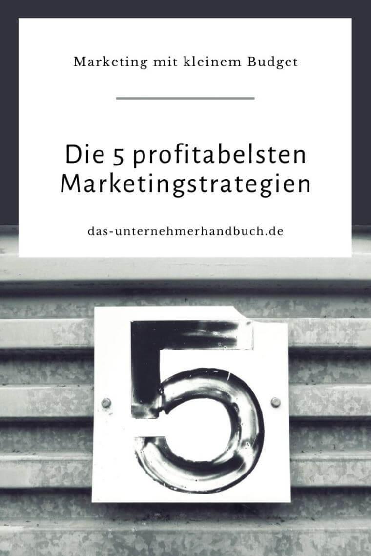 Marketingstrategien