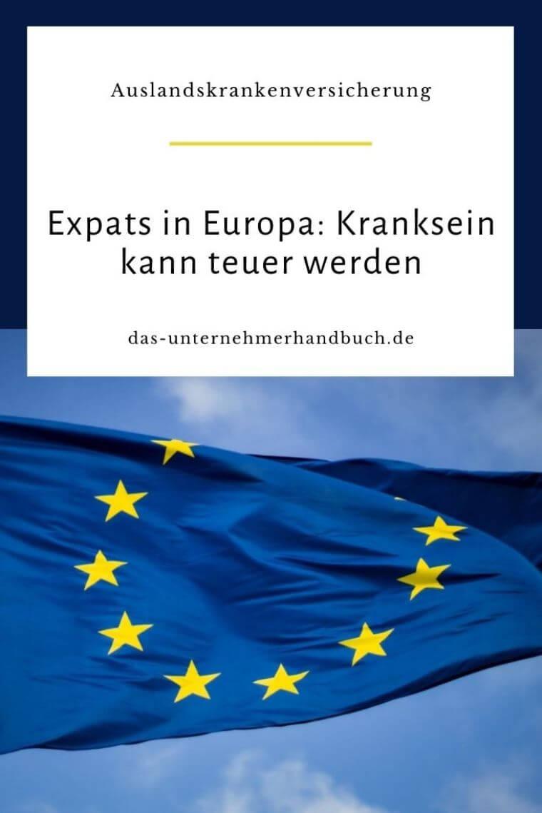 Auslandskrankenversicherung, Expats, Europa