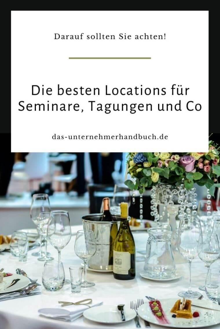 Locations für Seminare, Tagungen