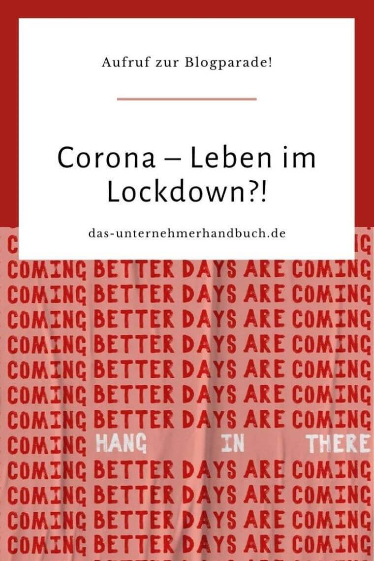 Corona Blogparade
