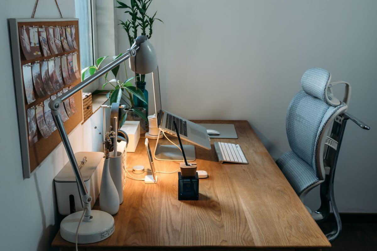 ergonomisches Büro