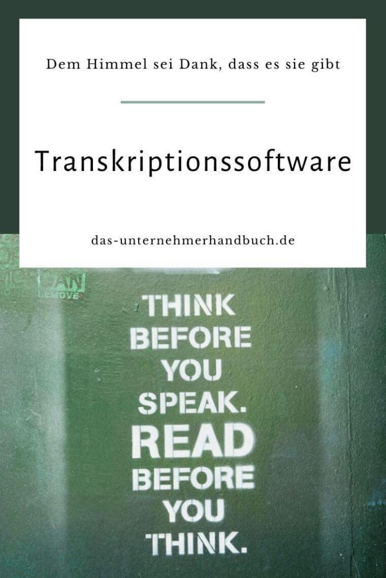 Transkriptionssoftware