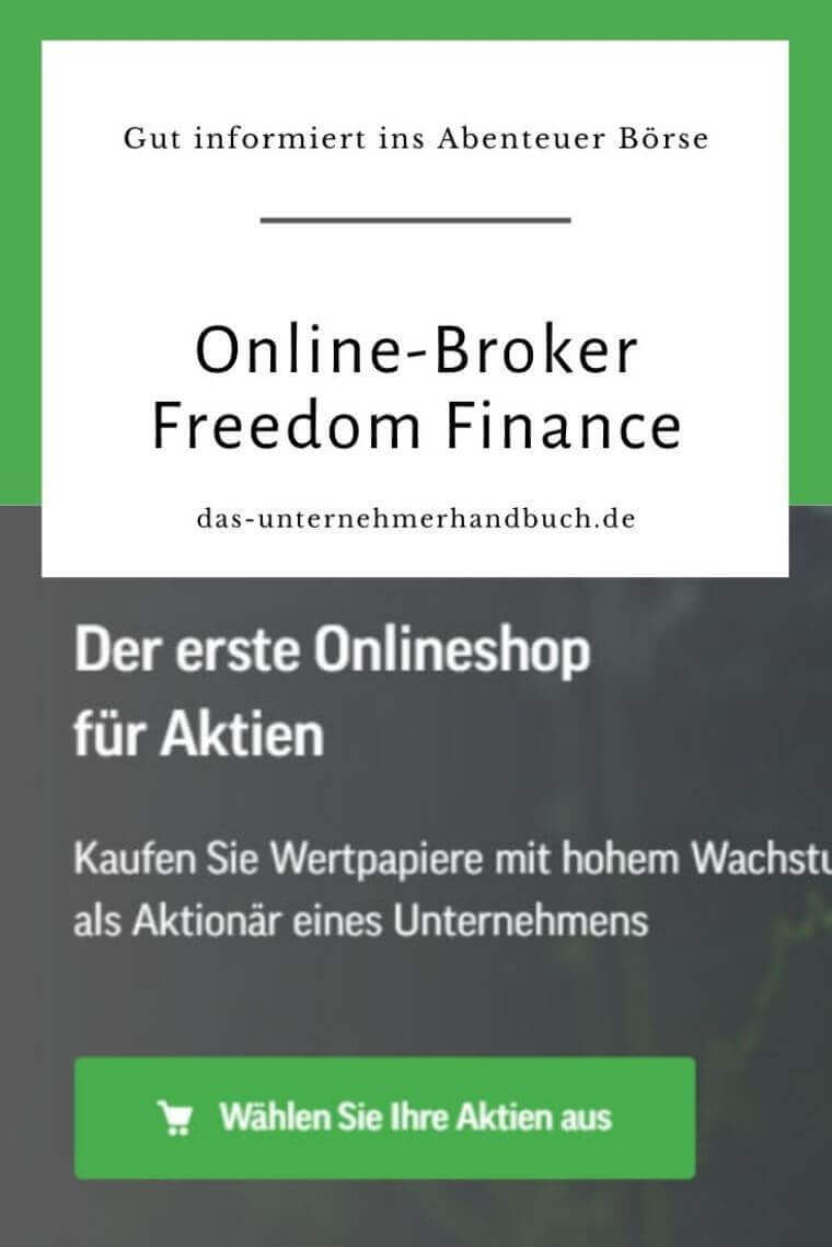 Online-Broker Freedom Finance