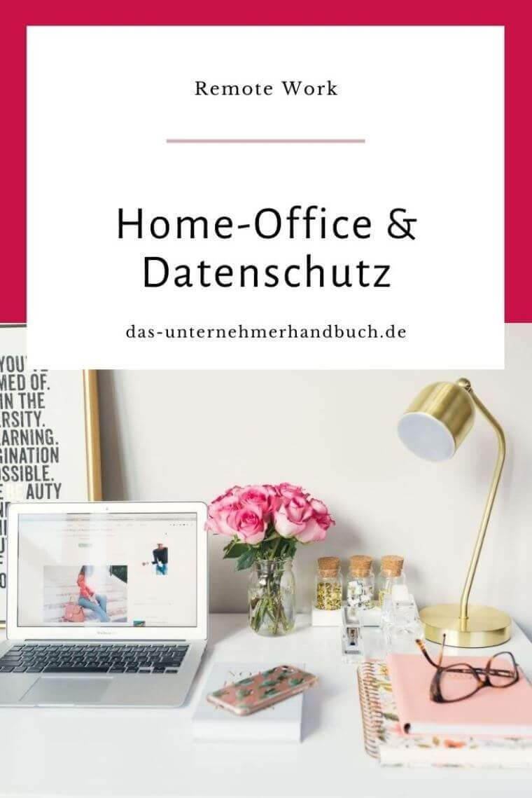 Home-Office Datenschutz