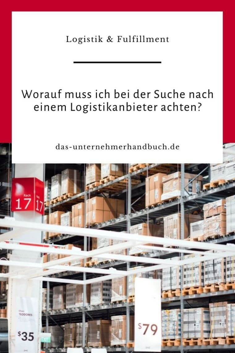 Logistikanbieter