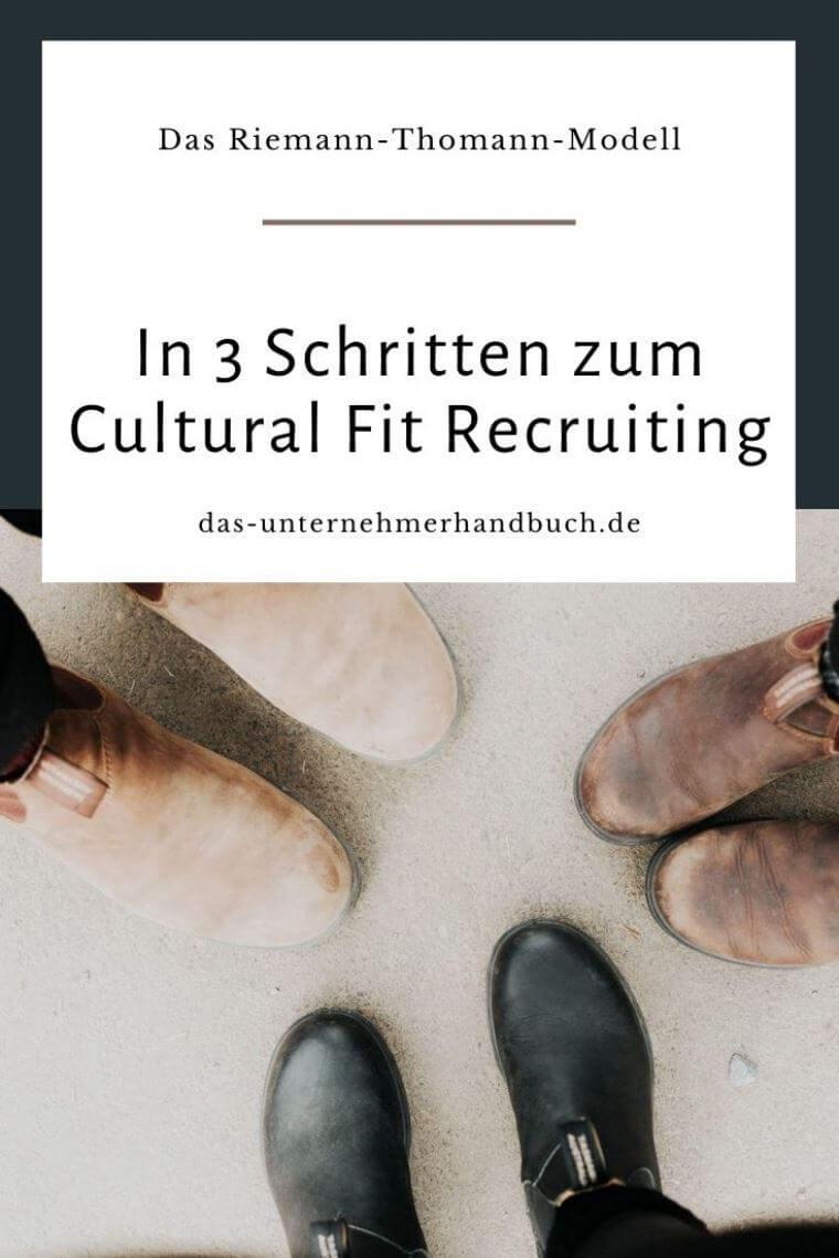 Riemann-Thomann-Modell, Cultural Fit