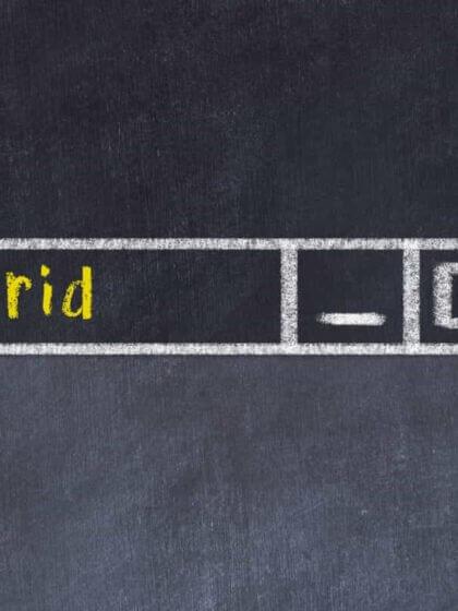 hybrides Arbeiten, hybride Arbeitsmodelle